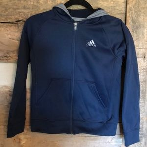 Youth Adidas zip up hoodie